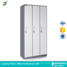 Factory Direct Cheap 3 Door Steel Almirah Cabinet Design with Price