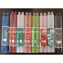 Gute Qualität Großhandel Farbe Stick Stumpenkerzen Made in China