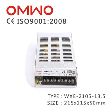 Wxe-210s-13.5 Enclosed Single Output SMPS Power Supply