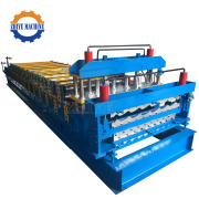 Roof&Wall Sheets Making Double Roll Forming machine