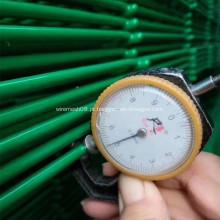 Cerca soldada verde da rede de arame de 4.5MM