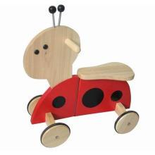 Деревянный Babywalker / Silder / Kid Walker / Деревянные игрушки / Поездка на игрушке