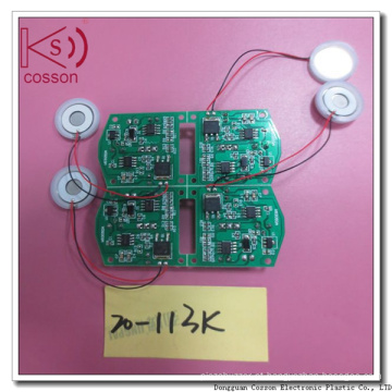 Transdutor Piezoelétrico de Atomização Ultrassônica