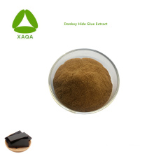 Supplément nutritionnel Poudre d'extrait de gélatine en peau d'âne