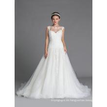 (G6945) vestidos de novia del vestido de bola
