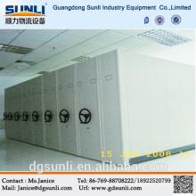 Sistema de armazenamento de arquivamento móvel de alta qualidade