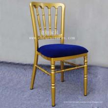 Свадебный стул с голубой удобной подушкой (YC-A40-02)