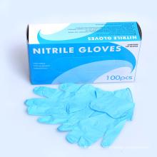 Одноразовые нитриловые перчатки CE ISO FDA высокое качество сделано в Китае