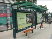 Bus Stop Shelter ------ Bus Shelter Display