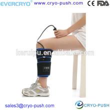 Venta al por mayor abrigo ortopédico de la compresión del hielo del becerro para la rehabilitación