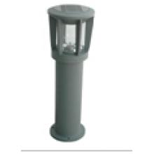Mini lampe de pelouse solaire extérieure en acier inoxydable portable