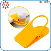 Bunte Plastiktisch-Schale Drinklip Papierbecher-Halter