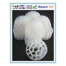 Embalagem de plástico aleatória para tratamento de água / Tratamento de águas residuais plásticas de remoção de torre