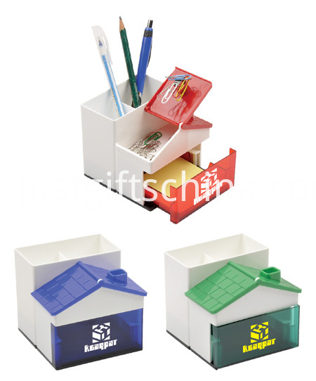 Promotional Multifunctional Logo Printed Pen Holder