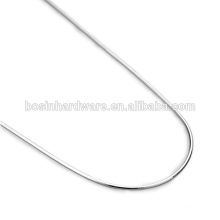 Fashion High Quality Metal Sterling Silver Snake Chain