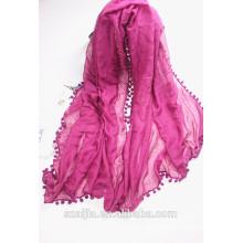 Fashion new ladies two tone scarf/shawl