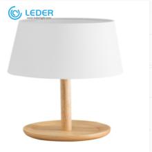 Lampes de table LEDER Targe blanches