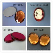 Round Shaped Crystal Flat Back Rhinestones Beads for Jewelry Component