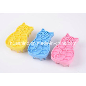 Cat Shape Bathbrushes, Pet Grooming Products