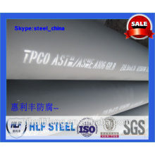 Epoxy Paint tubes en acier astm a53 finition époxy riche en zinc 007