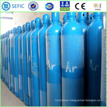 40L High Pressure Seamless Steel Argon Cylinder (ISO9809-3)