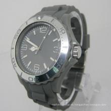 Nuevo reloj de moda plástico del movimiento del Japón de la protección del medio ambiente Sj073-5
