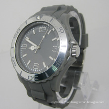 New Environmental Protection Japan Movement Plastic Fashion Watch Sj073-5