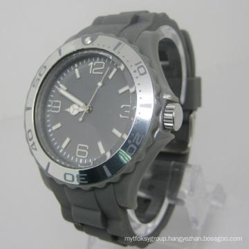 New Environmental Protection Japan Movement Plastic Fashion Watch Sj073-5
