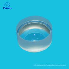 Sílica fundida JGS1 AR revestido de lentes de menisco negativo lentes ópticas