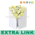 Benutzerdefinierte Acryl Vasen schneiden Boxen für Blumen