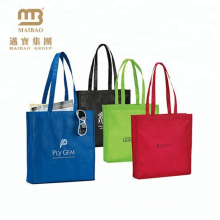 different colors for material recycled polypropylene non woven shopping bags