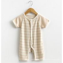 Ropa para bebés orgánica del bebé del mameluco del algodón
