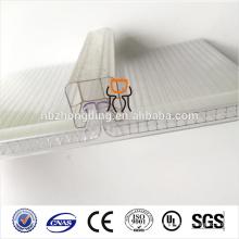 Feuille de PC en polycarbonate à 100% anti-fuites