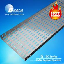 Bandeja de cable galvanizado / acero inoxidable / aluminio BESCA