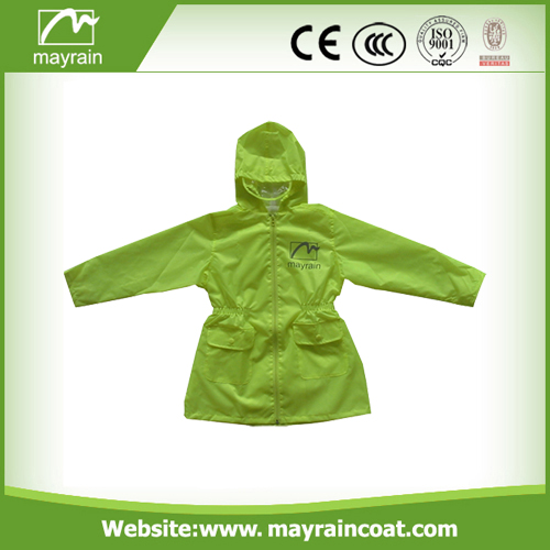Kids PVC Jacket With Hood