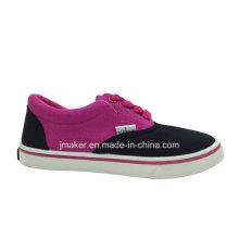 Calçados Casuais de Lona Infantil Clássica (2288-S & B)