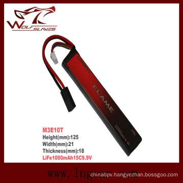 Life 1000mAh 15c 9.9V LiFePO4 LFP Battery M3e10t