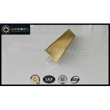 Glt147 perfil de alumínio Perfil Tile Trim (ouro brilhante)