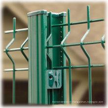 Clôture de sécurité pour la détection d'intrusion périmétrique avec des performances supérieures
