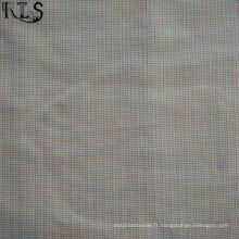 Tissu 100% coton teint en popeline de coton Rlsc50-27