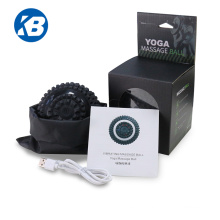 2021new arrival rechargeable yoga roller vibration mini massage ball