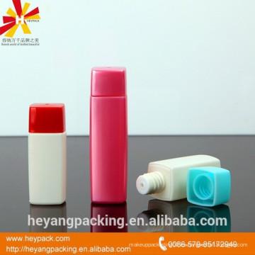 20 ml crema de manos cuadrado pet botella tapas