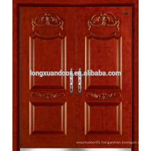 Hot sales factory double steel door, iron door