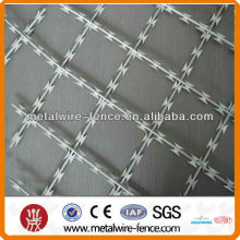 Stainless steel sharp blade mesh fence