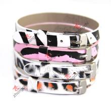 Fashion 8mm Leather Bracelet Jewelry for Kids Jewellry (ZC-B06)