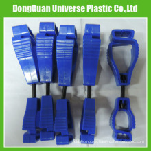 Plastic Safety Glove Clips (Dark Blue)