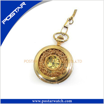 Antique Style Vintage Mechanical Pocket Watch