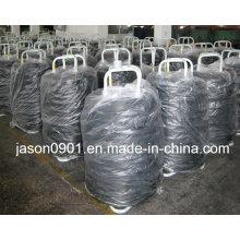 Fio de aço, corda de aço, fio de aço inoxidável, corda de aço inoxidável, aço carbono e fio retificado e cortado