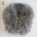 Moda Genuine Grey Guco Raccoon Fur Wrap for Women
