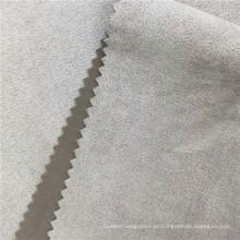 Camada de ar quente camurça tricô tecido escovado de inverno